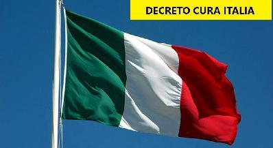 """DECRETO """"CURA ITALIA"""": tutte le informazioni preliminari, indennità anche agli operatori sportivi - Link al sito ARSEA"""